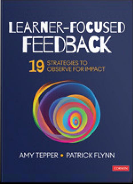 Learner Focused Feedback Book Cover